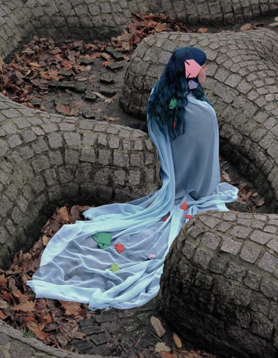 down by the riverside: of living fantasy in withered reality - 9/17: Surrealism - Model: Natalie